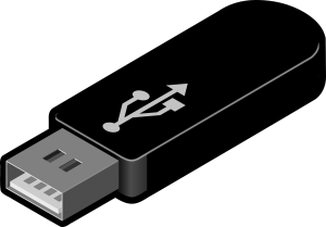 USB stick (Universal Serial Bus Stick)